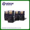 Black plastic coffee bag, coffee bag with valve, coffee bag with gusset