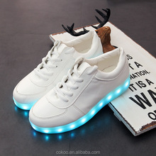 Alibaba led shoe safety reflective environmental ed colorful shoelaces best gift