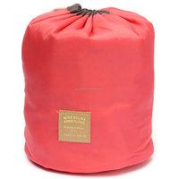 1Pcs/Lot Fashion Multifunction Barrel Shaped Wash Bags Women Cosmetic Bag Travel Makeup Organizer Bag Garden Supplies