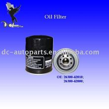 Hyundai Oil Filter & Brono Oil Filter & Ford Oil Filter 26300-42000
