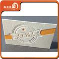 เกรดสูง400แกรมผ้าฝ้ายกระดาษletterpressธุรกิจออกแบบบัตร