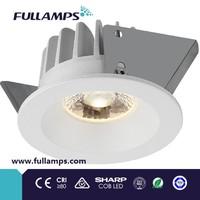 Fullamps 5W fixed spot light cob led downlight recessed ceiling light cutout 60mm dongguan supplier