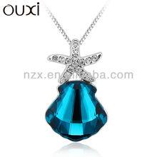 OUXI umode fashion imitation jewelry choker necklace Ouxi 2013 wholesale MADE WITH SWAROVSKI ELEMENT 10782
