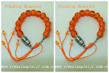 Halloween pumpkin LED flashing bracelet