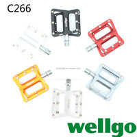 High Quality Wellgo Pedal C266 Urltra-Light For Road Bicycle BMX and Folding bikes pedal CQS