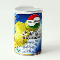 Food Usage and Paper,paper tube inner aluminum foil + liner + plastic cap Material potato chips packaging paper cans