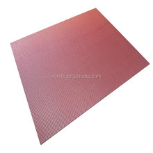 High strength color plain carbon fiber fabric plate 3mm (400*500*3mm)