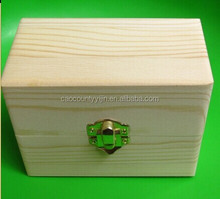 Pine Wooden Essential Oil Box
