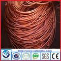 De haute qualité hot vendre 2015 nouveau fil de cuivre scrap/déchets de cuivre millberry 99.99%/meilleur prix fil de cuivre scrap 99.9%( usine)