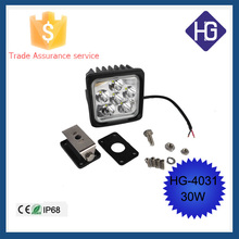 SUV 4WD Truck Motorcycle Crees 30W 4.3inch spot/flood led work light 12v