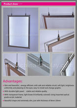 CE, RoHS Certificated Single Or Double Sided Hanging Picture Frame Acrylic