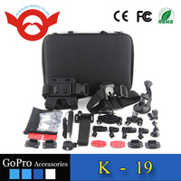 Hot selling gopro equipment, gopro accessories package for gopro aftermarket Guangdong China