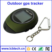 Mini Handheld navigation GPS/GSM watch tracker key chain for Outdoor Sport Data travel honey Logger track Personal Location