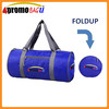 Superlight promotional polyester travel foldable waterproof duffel bag