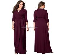 Mother of the bride dress/Wrap dress women big ass in evening dress photos/patterns of lace evening dress pink kaftan