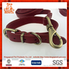 New arrival 2015 hot sales cheaper fine copper hook leather pet collar