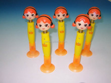 2015 New design Hot-selling No harm Non-toxic Promotional Bouncing Head Ballpen