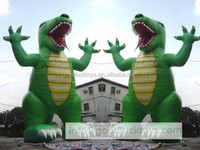 Cartoon Inflatable Animal Model / Custom dragon Advertising Inflatable Mobel / Promotion Inflatable Cartoon Model