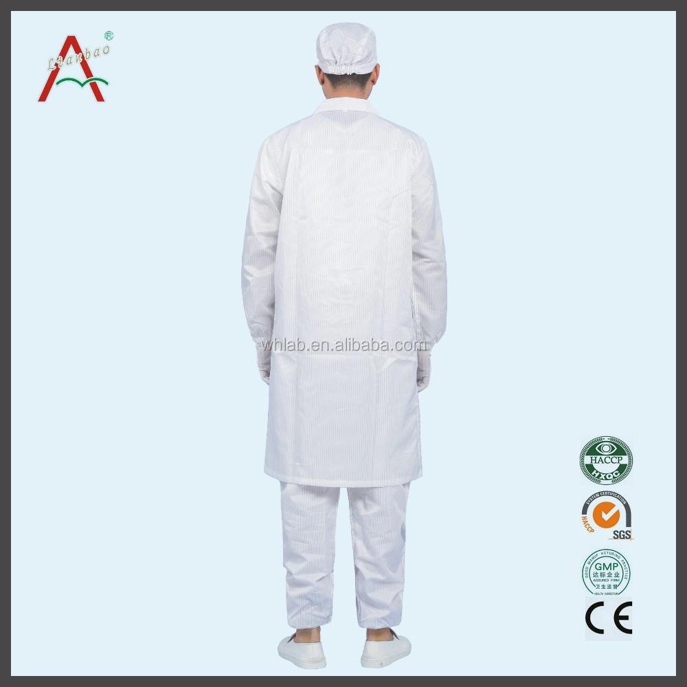 Anti Static Clothing : Comfortable non disposable waterproof anti static food