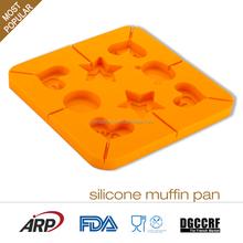 Silicone cake mold, Cute animal shape cake molds, FDA LFGB DGCCRF