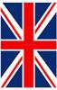 2015 design Best service OEM English national flag paper air freshener