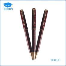 Businness Office Gifts metal twist ball pen red metal pen