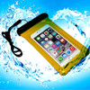 For samsung s6 underwater protective PVC waterproof pouch for smart phone