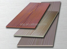 Colorful and texture fiber cement board, waterproof for outdoor decoration