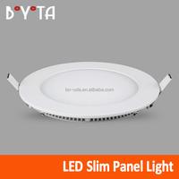 3W 6W 9W 12W 15W 18W ultrathin round led panel light, led panel round