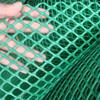 High quality plastic flat net, green plain plastic mesh