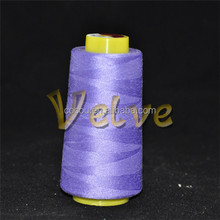 100% polyester sewing thread spun sewing yarn raw white from counts 20s-60s