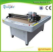 cnc carton box sample cutting machine