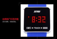 ROSH Test Fun touch vogue LED korea japan style jelly silicone lady geneva watch