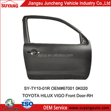 OEM Auto Body Door Panels for Toyota Hilux Single Cab