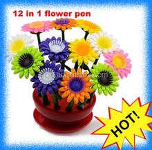 plastic 3d pen in flower shape