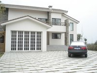 Aluminum garage door with glass panels | china facotry price CE certification 2014 mordern designs hot selling