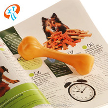 high quality squeaky natural bone vinyl dog toys rubber pet toy
