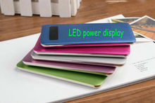 Best Power Bank/4400mah/blue/red/green/silvery/oem/odm/stainless steel bottom/TOUCH SCREEN/many color choice