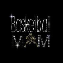 Hot Fix Custom Tshirt Basketball Mom Rhinestone Transfer Garment Accessory