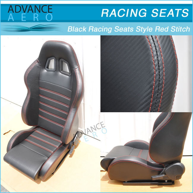 FOR ACURA INTEGRA TSX RSX CARBON LOOK BLACK PVC LEATHER