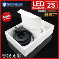 Powerful moto auto light, 30w high power led headlight, led headlight h4 h13 h11 h7 12v 3600lm BAOBAO Lighting