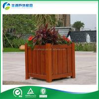 Garden Flower Pots, Outdoor Flower Pots, outdoor wood flower pots for sale