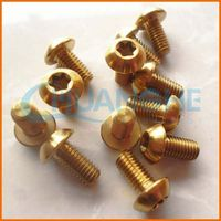 Factory supply good quality titanium screw&fastener for machinery parts