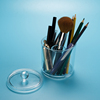 High quality Acrylic Clear Household Toothpicks Holder Case Stick Cotton Swab Makeup Organizer Box Container