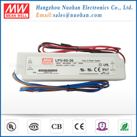 Meanwell 60W 36V Constant Voltage Single Output 60w led driver/waterproof led driver
