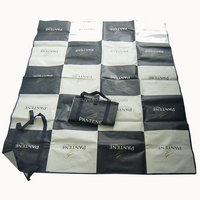 New professional promotional folded pp woven beach mat