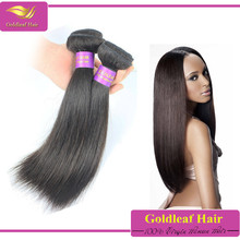 Malaysia export to india 7A Grade 16inches straight indian remy hair extension