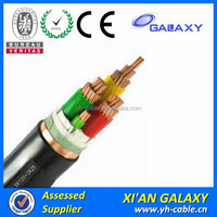 Manufacture PVC Sheathed XLPE Insulated electric cable armed