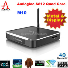 Multitude of free videos can be enjoyed by Acemax M10 smart tv box preinstalled Kodi and apps