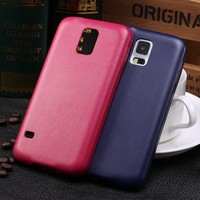 Thin Series PU Leather Slim Back Case Cover For Samsung Galaxy S5 i9600